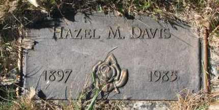 DAVIS, HAZEL M. - Yankton County, South Dakota   HAZEL M. DAVIS - South Dakota Gravestone Photos