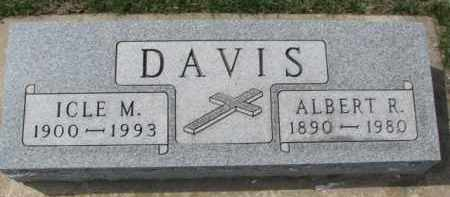 DAVIS, ALBERT R. - Yankton County, South Dakota | ALBERT R. DAVIS - South Dakota Gravestone Photos