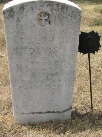 DAVIS, RALPH J. - Yankton County, South Dakota   RALPH J. DAVIS - South Dakota Gravestone Photos