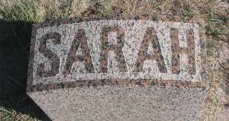 DAVIS, SARAH (FOOTSTONE) - Yankton County, South Dakota | SARAH (FOOTSTONE) DAVIS - South Dakota Gravestone Photos