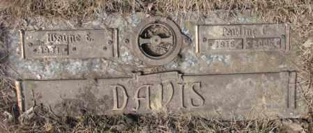 DAVIS, PAULINE C. - Yankton County, South Dakota | PAULINE C. DAVIS - South Dakota Gravestone Photos