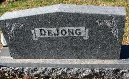 DEJONG, FAMILY STONE - Yankton County, South Dakota | FAMILY STONE DEJONG - South Dakota Gravestone Photos