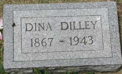 DILLEY, DINA - Yankton County, South Dakota   DINA DILLEY - South Dakota Gravestone Photos