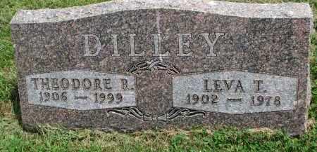 DILLEY, THEODORE R. - Yankton County, South Dakota   THEODORE R. DILLEY - South Dakota Gravestone Photos