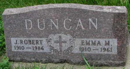DUNCAN, EMMA M. - Yankton County, South Dakota | EMMA M. DUNCAN - South Dakota Gravestone Photos