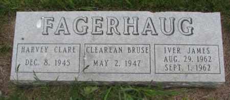 FAGERHAUG, CLEAREAN BRUSE - Yankton County, South Dakota | CLEAREAN BRUSE FAGERHAUG - South Dakota Gravestone Photos