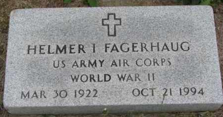 FAGERHAUG, HELMER I. - Yankton County, South Dakota   HELMER I. FAGERHAUG - South Dakota Gravestone Photos