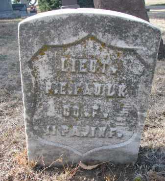 FAULK, P.E. (LIEUT.) - Yankton County, South Dakota | P.E. (LIEUT.) FAULK - South Dakota Gravestone Photos