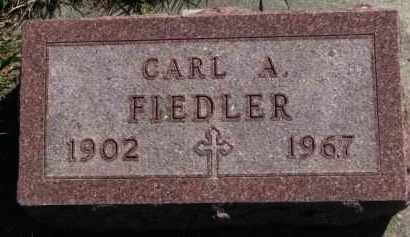 FIEDLER, CARL A. - Yankton County, South Dakota | CARL A. FIEDLER - South Dakota Gravestone Photos