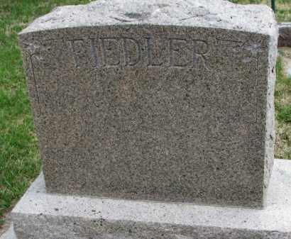 FIEDLER, FAMILY STONE - Yankton County, South Dakota | FAMILY STONE FIEDLER - South Dakota Gravestone Photos
