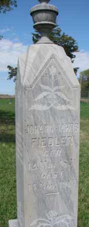 FIEDLER, JOHANN JAKOB - Yankton County, South Dakota | JOHANN JAKOB FIEDLER - South Dakota Gravestone Photos
