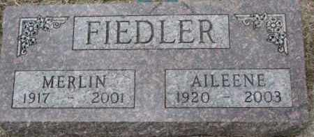 FIEDLER, MERLIN - Yankton County, South Dakota | MERLIN FIEDLER - South Dakota Gravestone Photos
