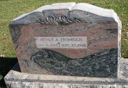 FROHREICH, ARTHUR A. - Yankton County, South Dakota | ARTHUR A. FROHREICH - South Dakota Gravestone Photos