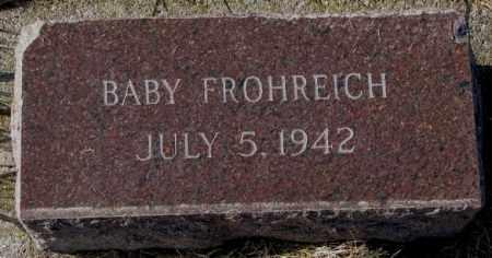 FROHREICH, BABY - Yankton County, South Dakota   BABY FROHREICH - South Dakota Gravestone Photos