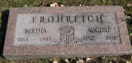 FROHREICH, BERTHA - Yankton County, South Dakota | BERTHA FROHREICH - South Dakota Gravestone Photos