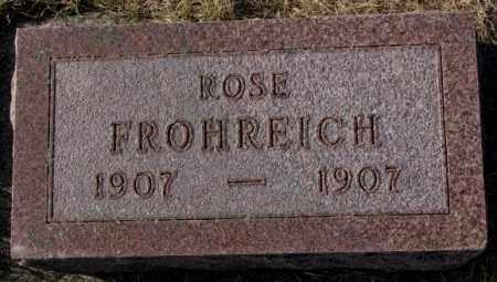 FROHREICH, ROSE - Yankton County, South Dakota | ROSE FROHREICH - South Dakota Gravestone Photos