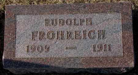 FROHREICH, RUDOLPH - Yankton County, South Dakota | RUDOLPH FROHREICH - South Dakota Gravestone Photos
