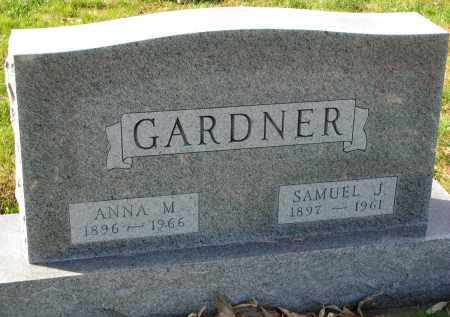 GARDNER, ANNA M. - Yankton County, South Dakota | ANNA M. GARDNER - South Dakota Gravestone Photos