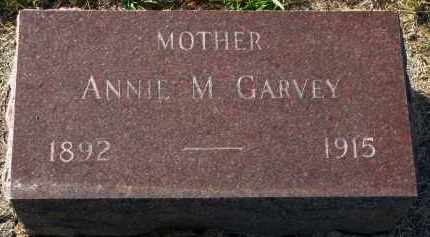 GARVEY, ANNIE M. - Yankton County, South Dakota | ANNIE M. GARVEY - South Dakota Gravestone Photos