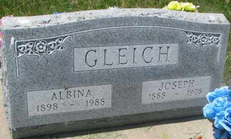 GLEICH, JOSEPH - Yankton County, South Dakota | JOSEPH GLEICH - South Dakota Gravestone Photos