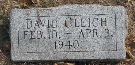 GLEICH, DAVID - Yankton County, South Dakota | DAVID GLEICH - South Dakota Gravestone Photos