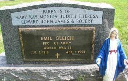 GLEICH, EMIL (WW II) - Yankton County, South Dakota | EMIL (WW II) GLEICH - South Dakota Gravestone Photos