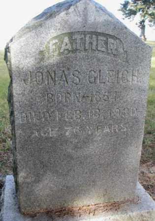 GLEICH, JONAS - Yankton County, South Dakota | JONAS GLEICH - South Dakota Gravestone Photos
