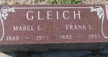 GLEICH, MABEL E. - Yankton County, South Dakota | MABEL E. GLEICH - South Dakota Gravestone Photos