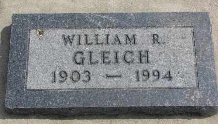 GLEICH, WILLIAM R. - Yankton County, South Dakota | WILLIAM R. GLEICH - South Dakota Gravestone Photos