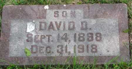 GORDON, DAVID D. - Yankton County, South Dakota | DAVID D. GORDON - South Dakota Gravestone Photos
