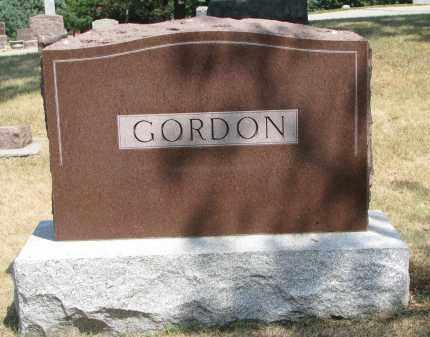 GORDON, FAMILY STONE - Yankton County, South Dakota | FAMILY STONE GORDON - South Dakota Gravestone Photos