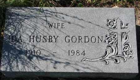 GORDON, IDA - Yankton County, South Dakota | IDA GORDON - South Dakota Gravestone Photos