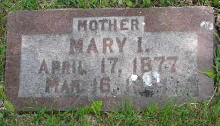GORDON, MARY I. - Yankton County, South Dakota | MARY I. GORDON - South Dakota Gravestone Photos
