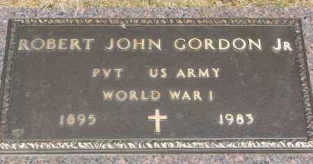 GORDON, ROBERT JOHN JR. - Yankton County, South Dakota   ROBERT JOHN JR. GORDON - South Dakota Gravestone Photos