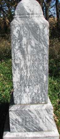 GORDON, ROBERT - Yankton County, South Dakota   ROBERT GORDON - South Dakota Gravestone Photos