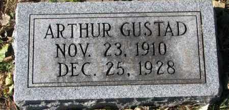 GUSTAD, ARTHUR - Yankton County, South Dakota   ARTHUR GUSTAD - South Dakota Gravestone Photos