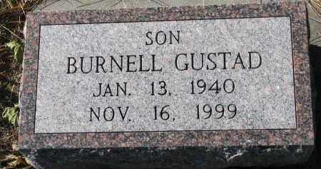 GUSTAD, BURNELL - Yankton County, South Dakota | BURNELL GUSTAD - South Dakota Gravestone Photos