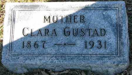 GUSTAD, CLARA - Yankton County, South Dakota | CLARA GUSTAD - South Dakota Gravestone Photos
