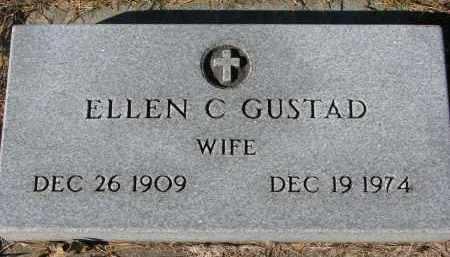 GUSTAD, ELLEN C. - Yankton County, South Dakota   ELLEN C. GUSTAD - South Dakota Gravestone Photos