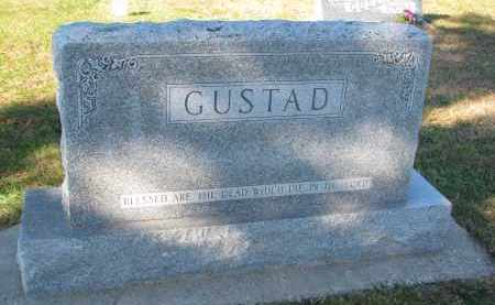 GUSTAD, FAMILY STONE - Yankton County, South Dakota   FAMILY STONE GUSTAD - South Dakota Gravestone Photos