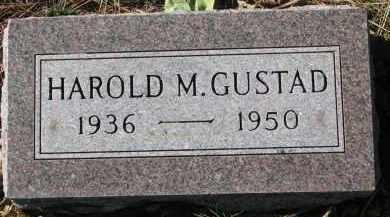 GUSTAD, HAROLD M. - Yankton County, South Dakota | HAROLD M. GUSTAD - South Dakota Gravestone Photos