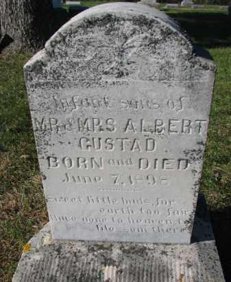 GUSTAD, INFANT SONS - Yankton County, South Dakota | INFANT SONS GUSTAD - South Dakota Gravestone Photos