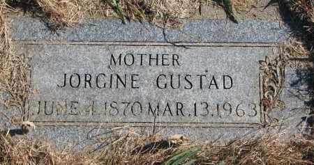 GUSTAD, JORGINE - Yankton County, South Dakota | JORGINE GUSTAD - South Dakota Gravestone Photos