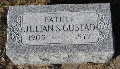 GUSTAD, JULIAN S. - Yankton County, South Dakota | JULIAN S. GUSTAD - South Dakota Gravestone Photos