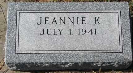 GUSTAD, JEANNIE K. - Yankton County, South Dakota | JEANNIE K. GUSTAD - South Dakota Gravestone Photos