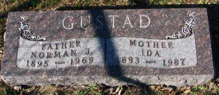 GUSTAD, IDA - Yankton County, South Dakota | IDA GUSTAD - South Dakota Gravestone Photos