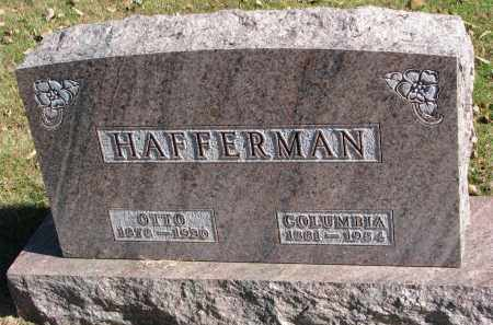 HAFFERMAN, COLUMBIA - Yankton County, South Dakota | COLUMBIA HAFFERMAN - South Dakota Gravestone Photos