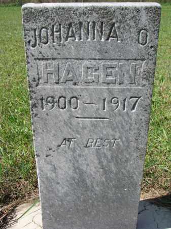 HAGEN, JOHANNA O. - Yankton County, South Dakota   JOHANNA O. HAGEN - South Dakota Gravestone Photos