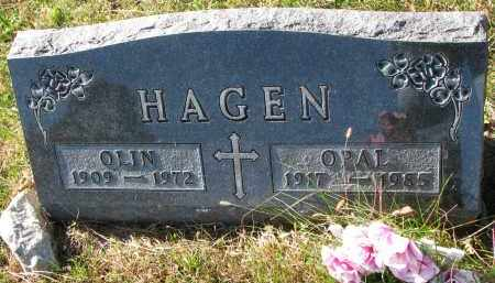HAGEN, OPAL - Yankton County, South Dakota   OPAL HAGEN - South Dakota Gravestone Photos