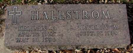 HALLSTROM, BEVERLY M. - Yankton County, South Dakota | BEVERLY M. HALLSTROM - South Dakota Gravestone Photos